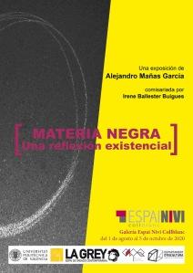 Exposición: Materia negra